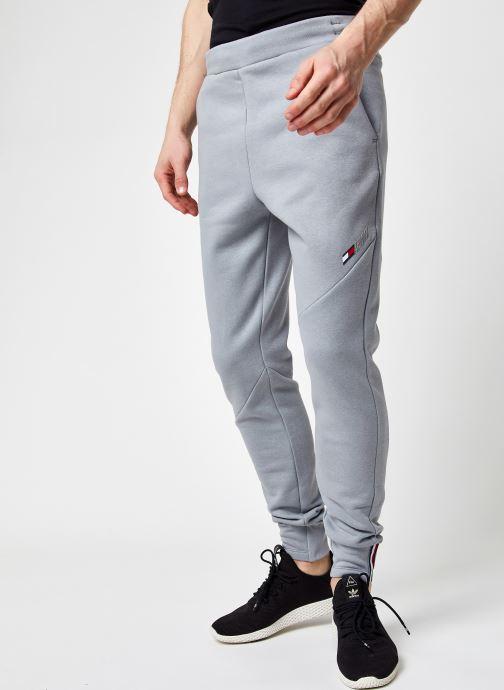 Vêtements Tommy Sport Logo Fleece Pant M Gris vue détail/paire