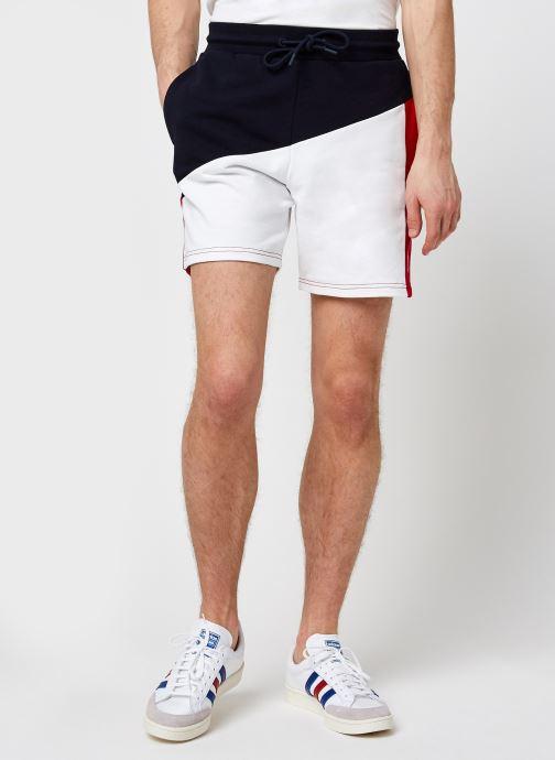 Vêtements Tommy Sport Blocked Terry Short M Bleu vue détail/paire