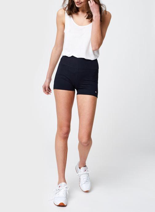 Vêtements Tommy Sport Rw Fitted Short W Bleu vue bas / vue portée sac