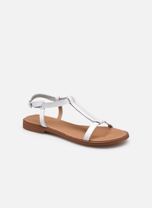 Sandales et nu-pieds Dorking Leyla D 8567 Blanc vue détail/paire