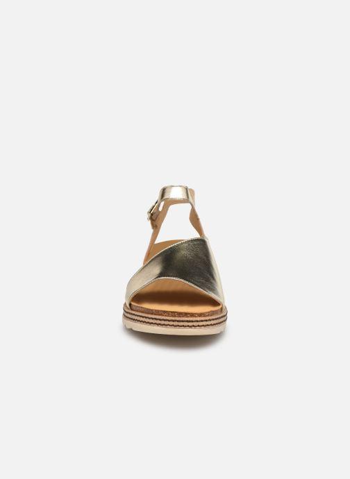Sandales et nu-pieds Dorking Espe D 8540 Argent vue portées chaussures