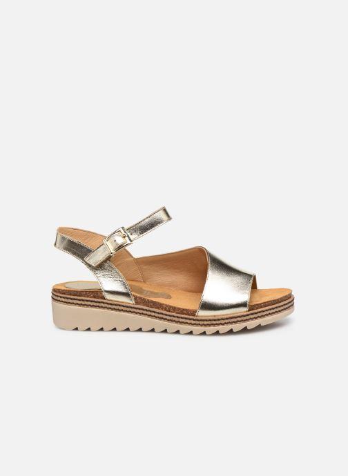 Sandales et nu-pieds Dorking Espe D 8540 Argent vue derrière