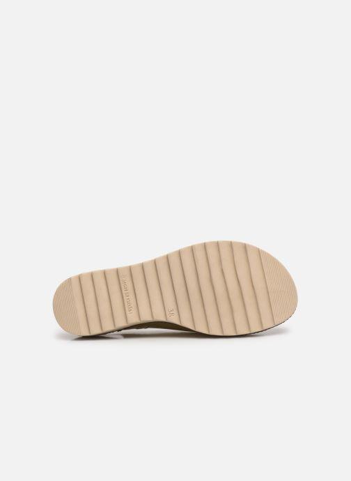 Sandales et nu-pieds Dorking Espe D 8540 Argent vue haut