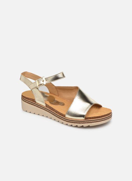 Sandales et nu-pieds Dorking Espe D 8540 Argent vue détail/paire