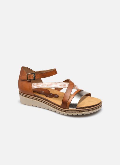 Sandales et nu-pieds Dorking Espe D 8542 Marron vue détail/paire