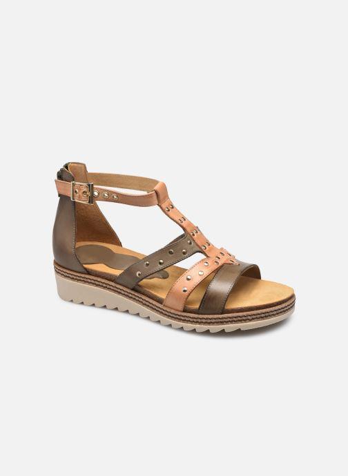 Sandales et nu-pieds Dorking Espe D 8539 Vert vue détail/paire