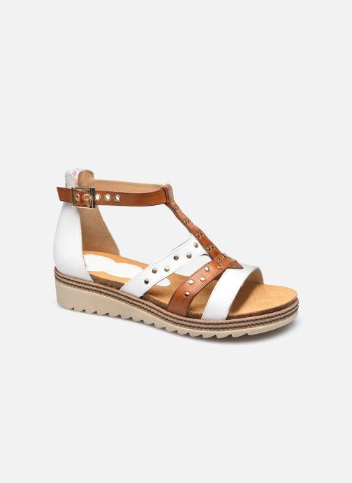 Sandales et nu-pieds Dorking Espe D 8539 Blanc vue détail/paire