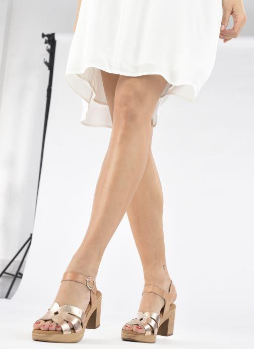 Sandalen Dorking Pilar D 8556 Beige onder