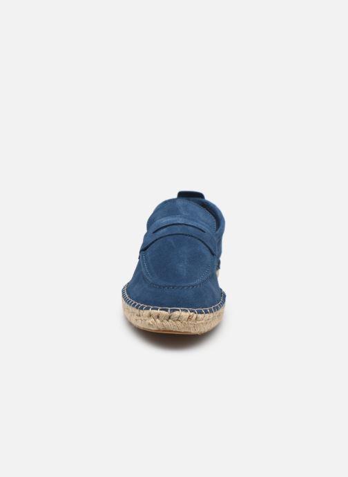 Scarpe di corda Marvin&Co Inboat Azzurro modello indossato