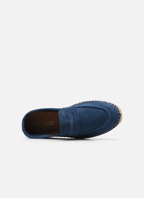 Scarpe di corda Marvin&Co Inboat Azzurro immagine sinistra