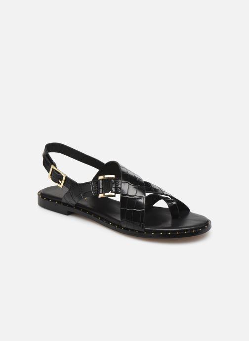 Sandales et nu-pieds COSMOPARIS HANAH/CROC Noir vue détail/paire
