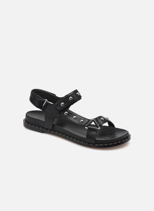 Sandales et nu-pieds COSMOPARIS HINES/STUD Noir vue détail/paire
