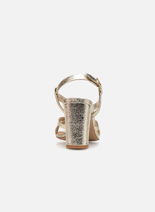 Sandalen COSMOPARIS VICCI/MET Goud en brons rechts