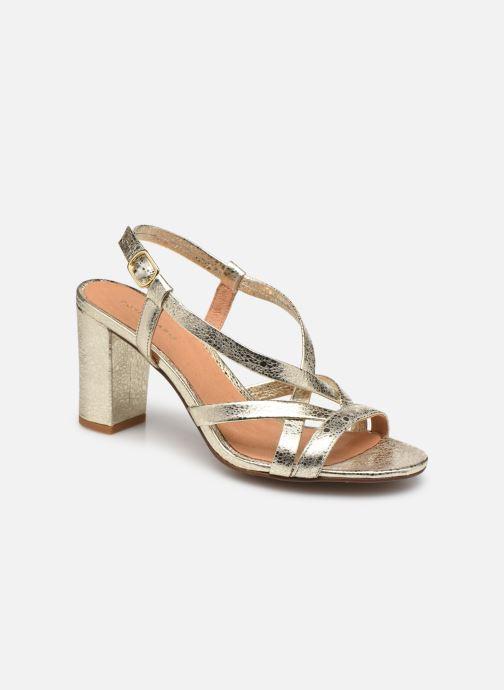 Sandales et nu-pieds COSMOPARIS VICCI/MET Or et bronze vue détail/paire