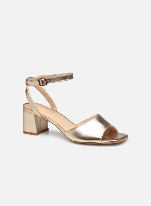 Sandales et nu-pieds COSMOPARIS ZARINA/MET Or et bronze vue détail/paire