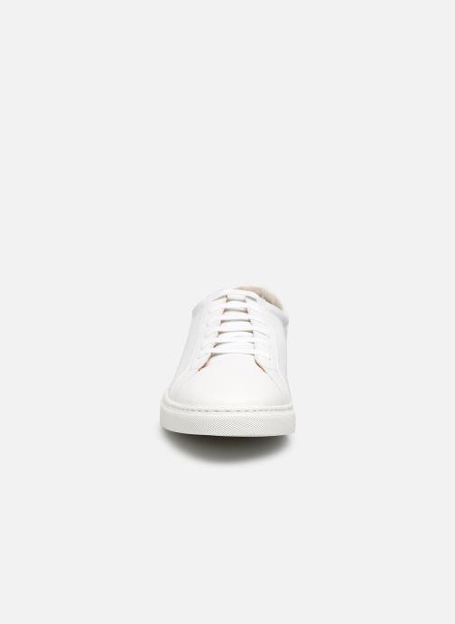 Sneaker Kost WALTON 65 A weiß schuhe getragen