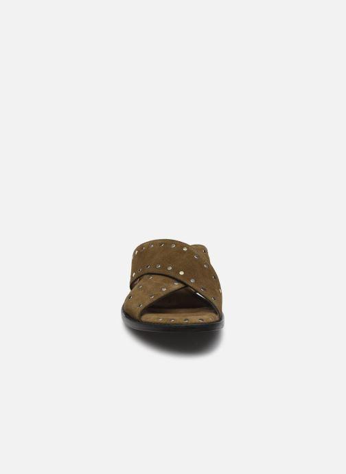 Mules et sabots Free Lance LENNIE Vert vue portées chaussures