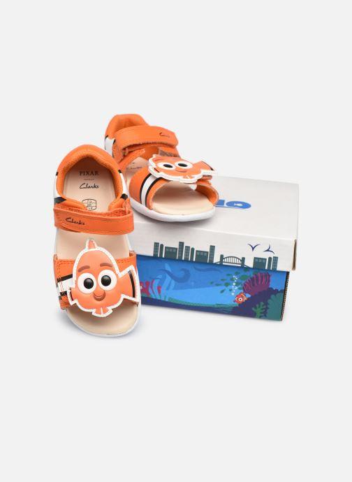 Sandalen Clarks Zora Nemo T orange 3 von 4 ansichten