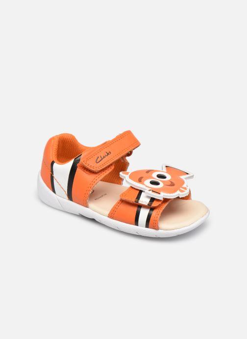 Sandalen Clarks Zora Nemo T orange detaillierte ansicht/modell