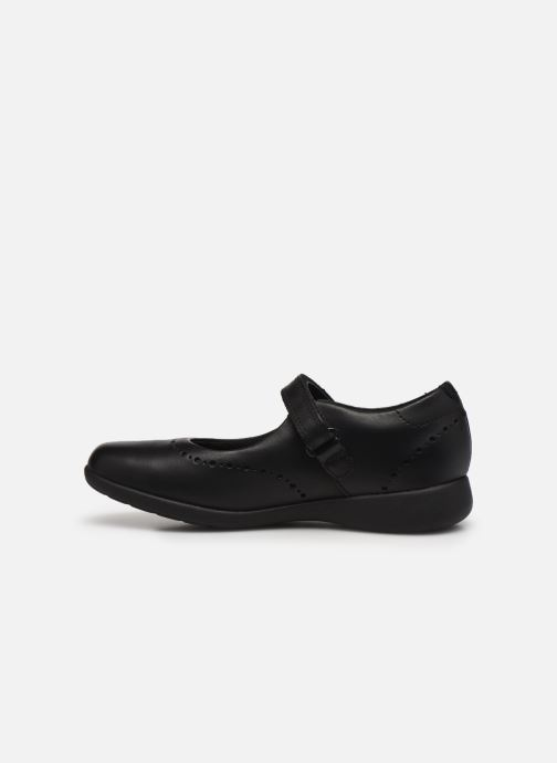 Ballerines Clarks Etch Craft K Noir vue face