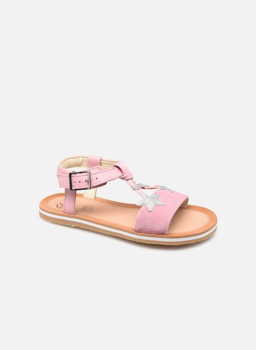 Sandalen Clarks Finch Summer K rosa detaillierte ansicht/modell