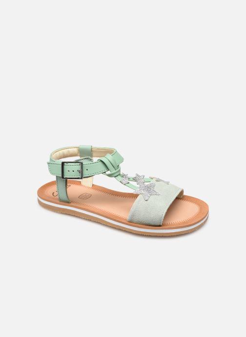 Sandalen Clarks Finch Summer K grün detaillierte ansicht/modell