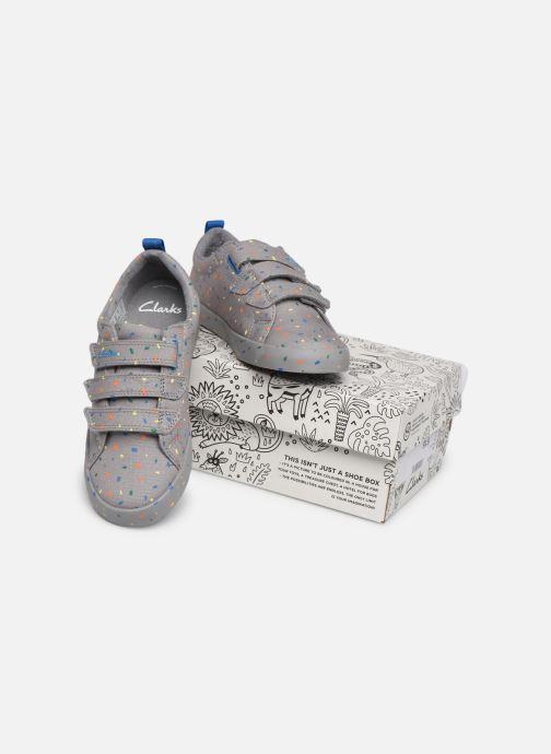 Sneakers Clarks Foxing Print K Grijs 3/4'