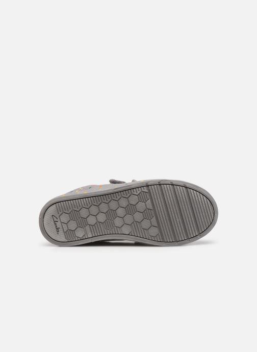 Sneakers Clarks Foxing Print K Grijs boven
