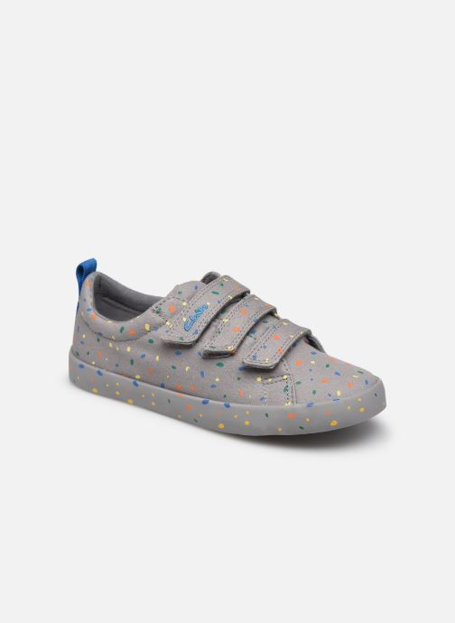 Sneaker Clarks Foxing Print K grau detaillierte ansicht/modell