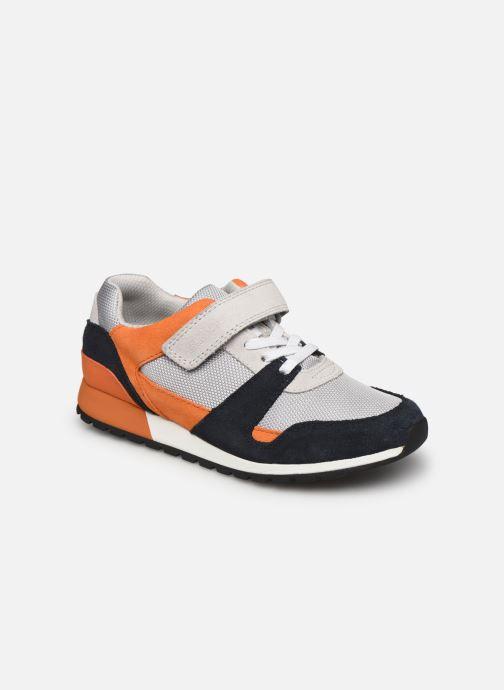 Sneaker Clarks Retro Run K grau detaillierte ansicht/modell