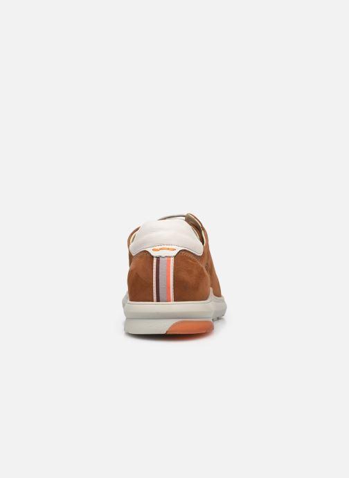 Sneakers Fluchos Jack F1158 Bruin rechts