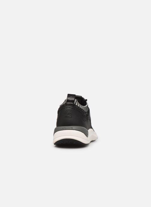 Sneaker Fluchos Atom F0872 schwarz ansicht von rechts
