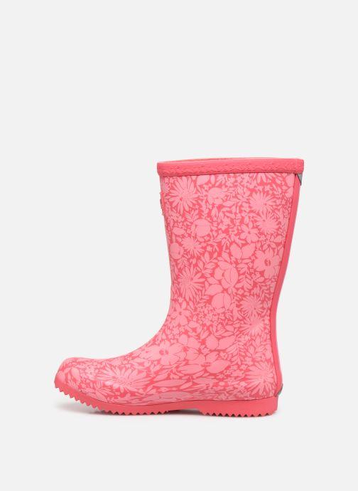 Stiefel Tom Joule Jnr Roll Up Welly rosa ansicht von vorne