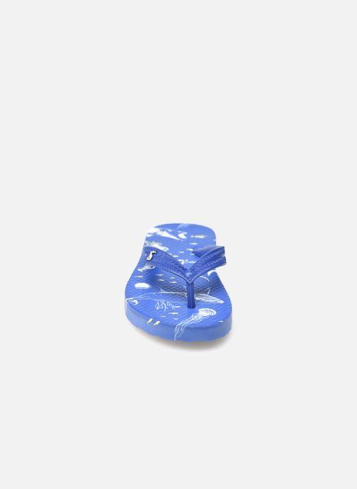 Zehensandalen Tom Joule Jnr Flip Flop blau schuhe getragen