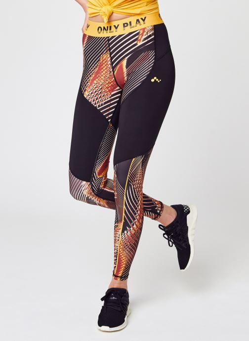 Kleding Only Play Onpmarlin Aop Hw Train Tights Multicolor detail