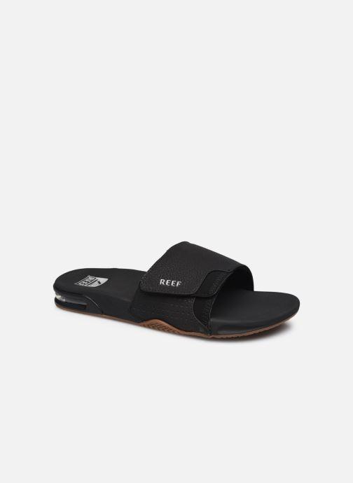 Sandales et nu-pieds Reef Fanning Slide Noir vue détail/paire