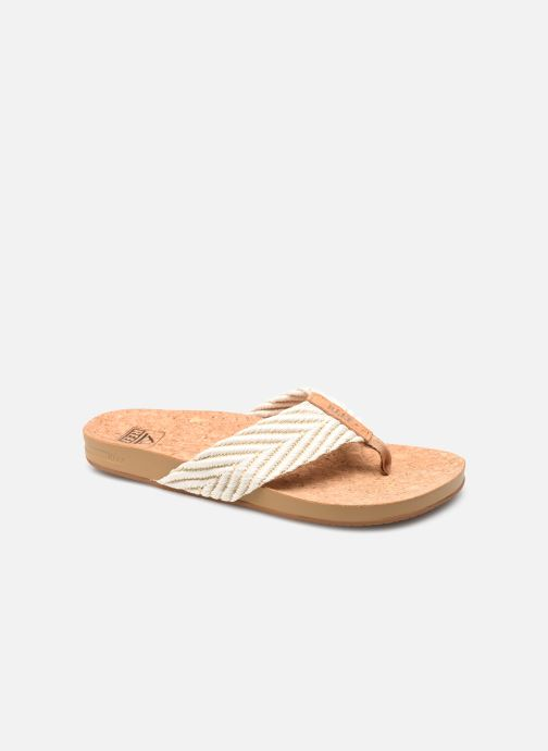 Slippers Reef Reef Cushion Strand Wit detail