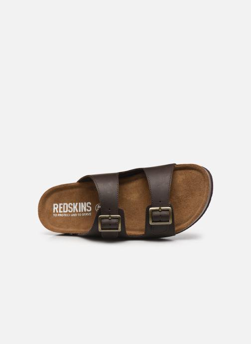 Sandalen Redskins Californie braun ansicht von links