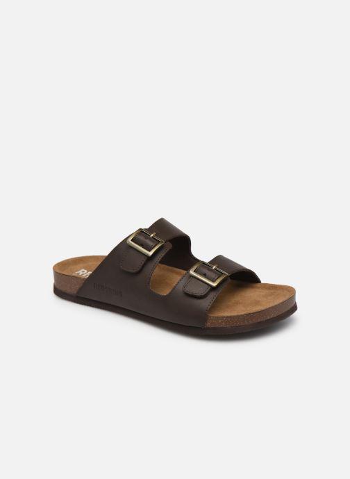 Sandales et nu-pieds Redskins Californie Marron vue détail/paire