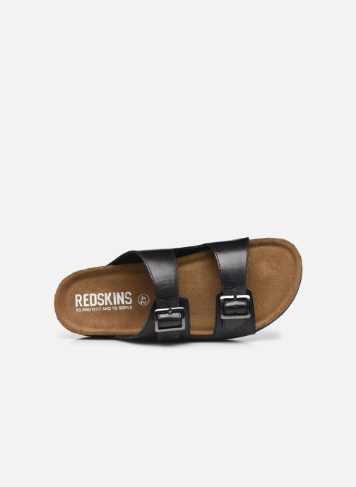 Sandali e scarpe aperte Redskins Californie Nero immagine sinistra