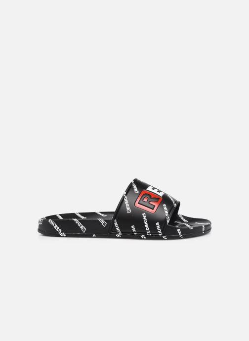Sandalen Redskins Clak schwarz ansicht von hinten