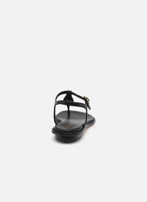 Sandalen Michael Michael Kors MALLORY THONG schwarz ansicht von rechts