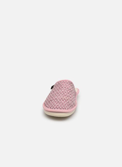 Hausschuhe Dim D Doly - Made In France - rosa schuhe getragen