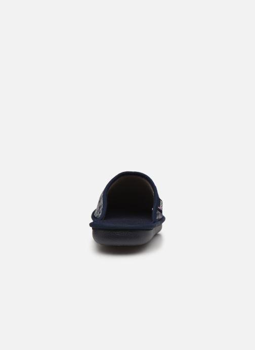 Pantofole Dim D Cano - Made In France - Azzurro immagine destra