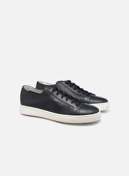 Sneakers Santoni CLEANIC 1 Azzurro immagine 3/4