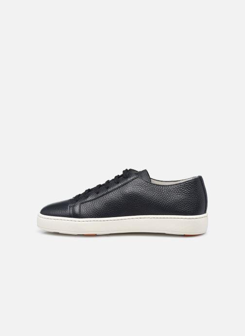 Sneakers Santoni CLEANIC 1 Azzurro immagine frontale