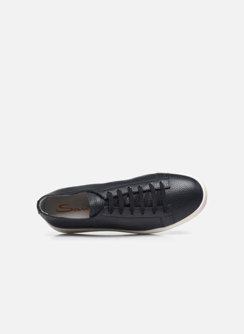 Sneakers Santoni CLEANIC 1 Azzurro immagine sinistra
