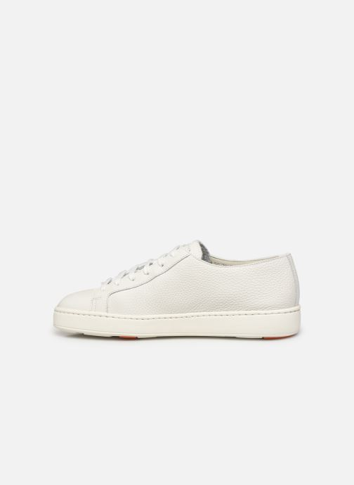 Sneakers Santoni CLEANIC 1 Bianco immagine frontale