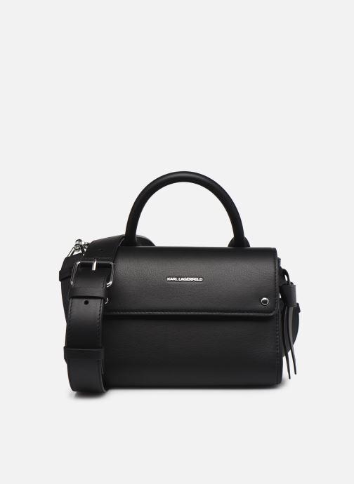 Handtaschen Karl Lagerfeld K/Ikon Mini Top Handle schwarz detaillierte ansicht/modell