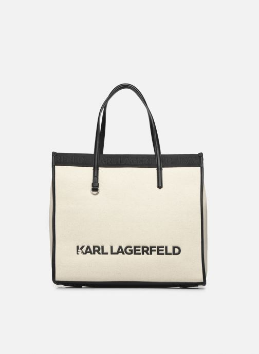 Handtaschen Karl Lagerfeld K/Skuare Tote Canvas beige detaillierte ansicht/modell